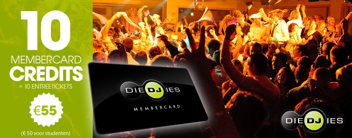 Diedjies - 10 Membercard Credits