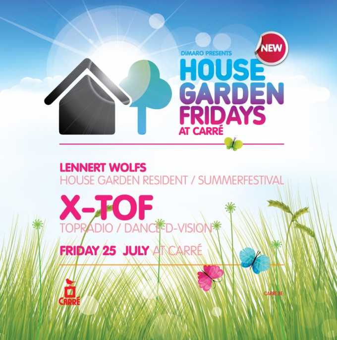 Featuring Lennert Wolfs and special guest X-Tof, Friday 25 july 2014