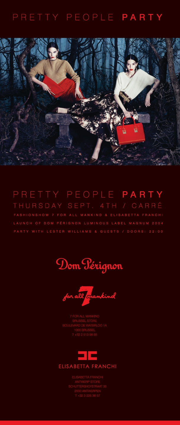 Pretty People Party, Thursday 04 september 2014