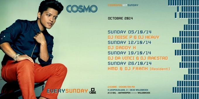DJ HMD, Sunday 26 october 2014