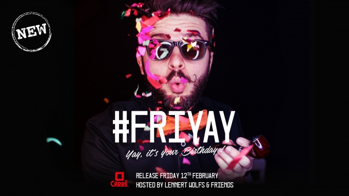 FRIYAY: New Concept Release Party, Friday 12 february 2016