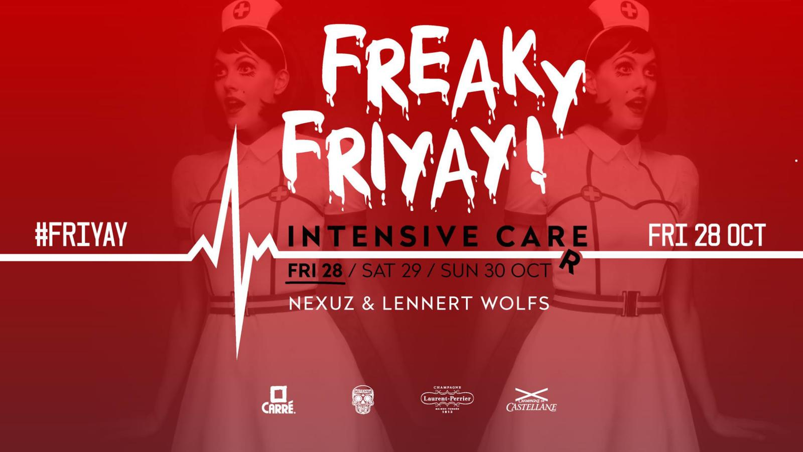 Intensive carré weekend freaky friyay 28 oktober